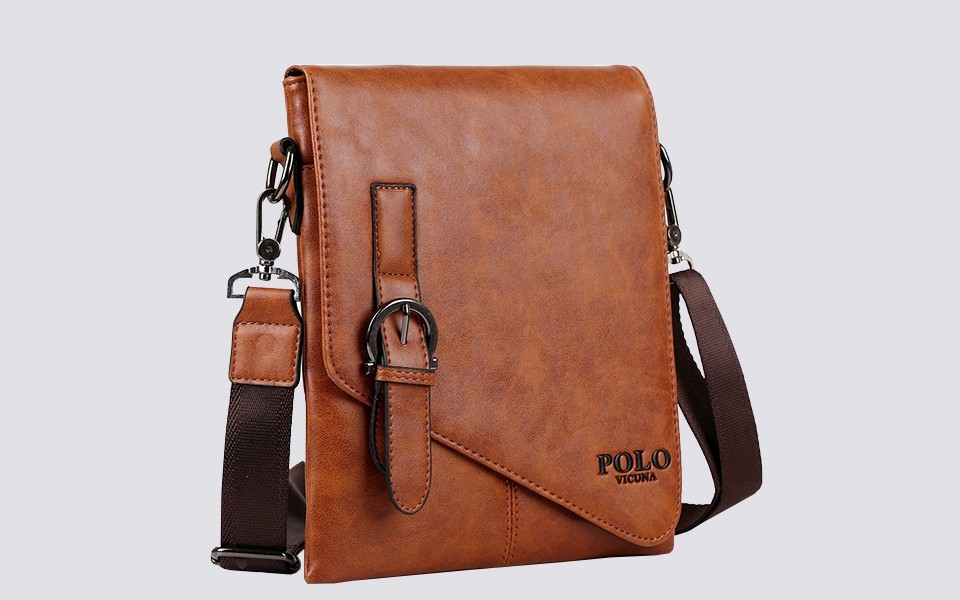 Polo bag men 39 s leather handbag crossbody messenger for A href decoration none