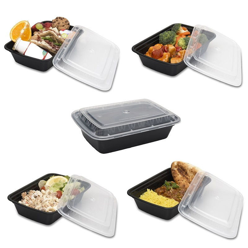 bento lunch box tupperware set meal prep food restaurant containers w lids ebay. Black Bedroom Furniture Sets. Home Design Ideas
