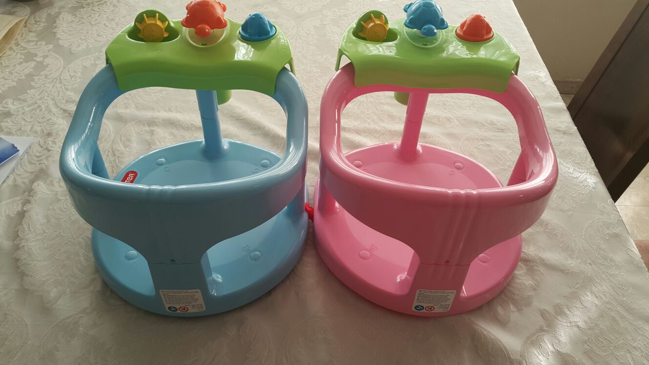 baby bath tub ring seat fun keter infant anti slip chair safety free shipping ebay. Black Bedroom Furniture Sets. Home Design Ideas