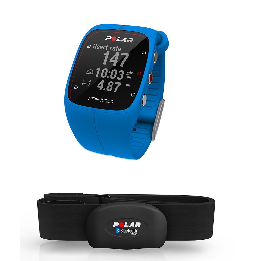 POLAR M400 GPS Activity Tracker Sport Watch Fitness + H7 Heart Rate Monitor HRM | eBay