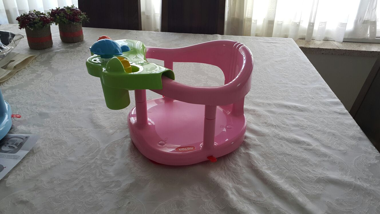 baby bath tub ring seat fun keter infant anti slip chair. Black Bedroom Furniture Sets. Home Design Ideas