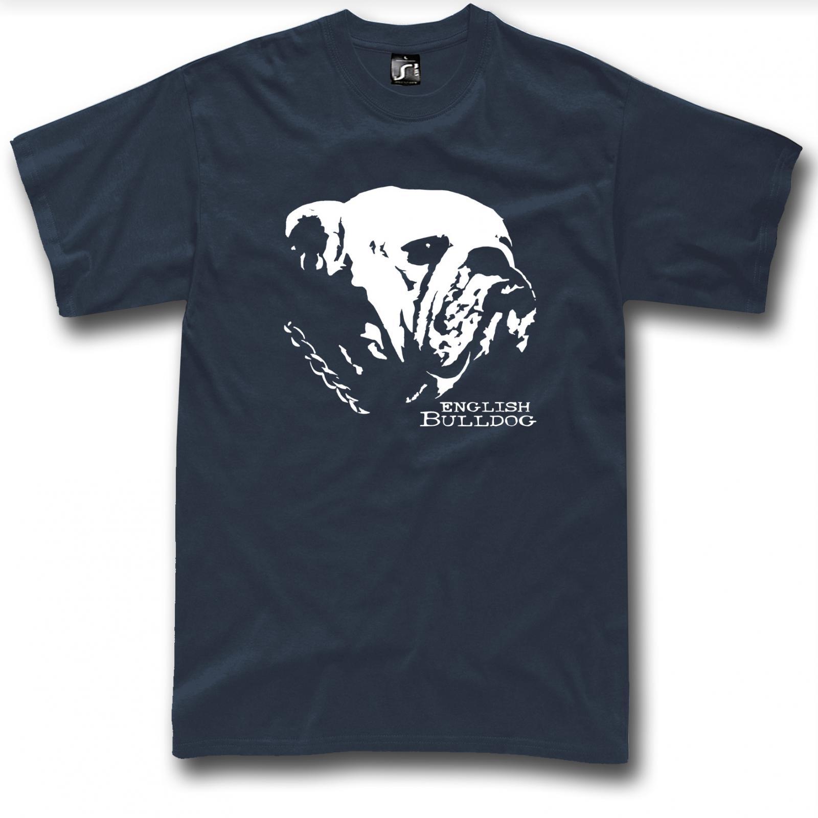 English bulldog t shirt dog graphic new design british T shirts for english bulldogs
