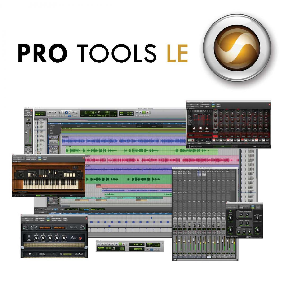 avid pro tools le 8 0 4 full installation dvd with authorization code win pc ebay. Black Bedroom Furniture Sets. Home Design Ideas