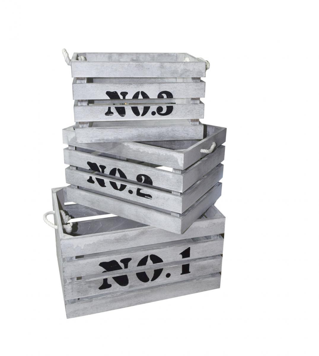 Cassette in legno ceste tipo frutta scatola porta oggetti for Mobili rebecca potenza picena