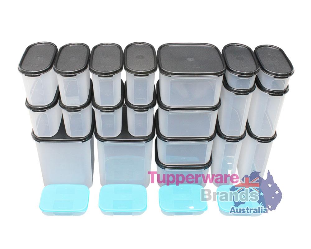 Tupperware 24 pcs modular mates essential kitchen combo for Kitchen combo set 50 pcs