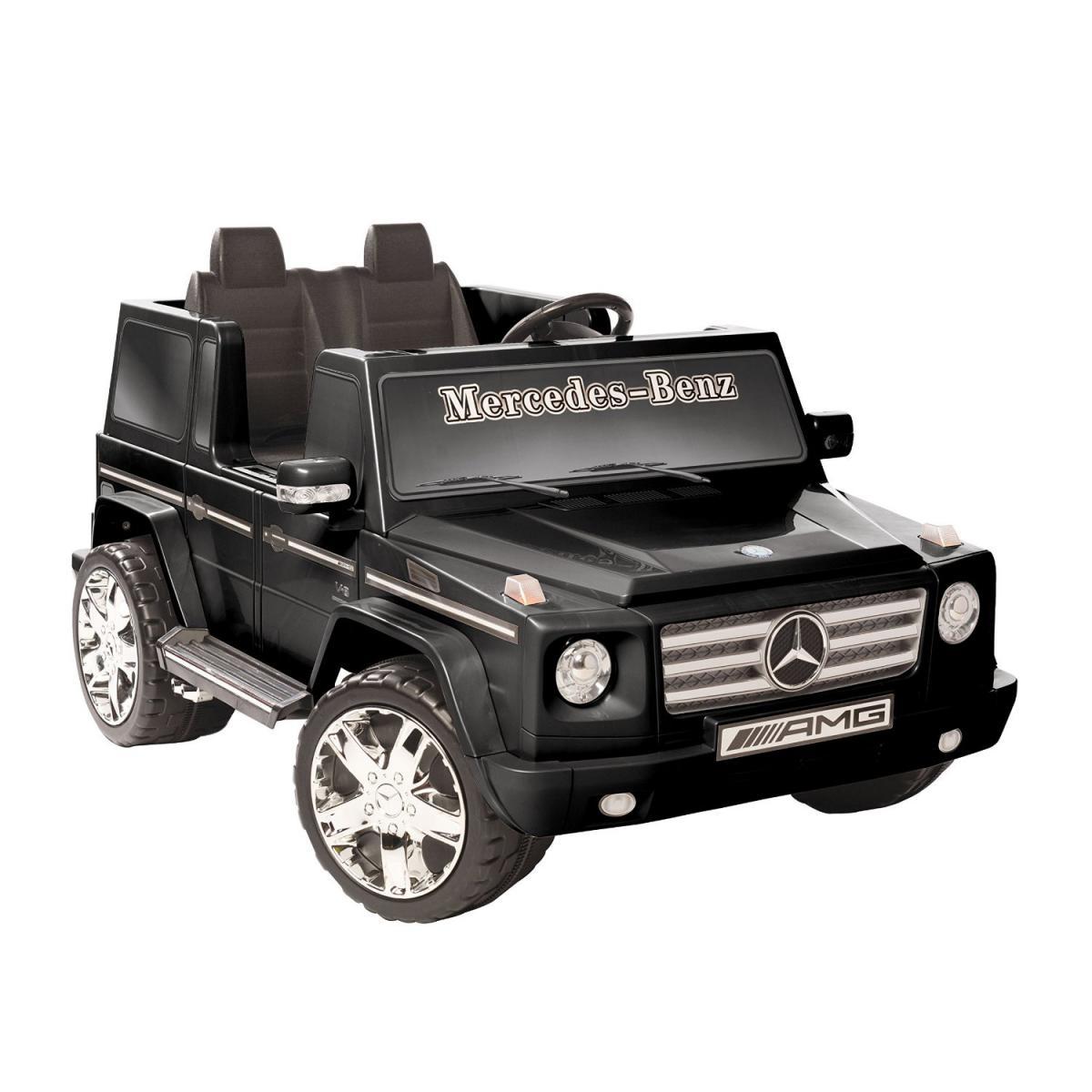 electric vehicles mercedes benz g class 12v black battery ride on toys car kids ebay