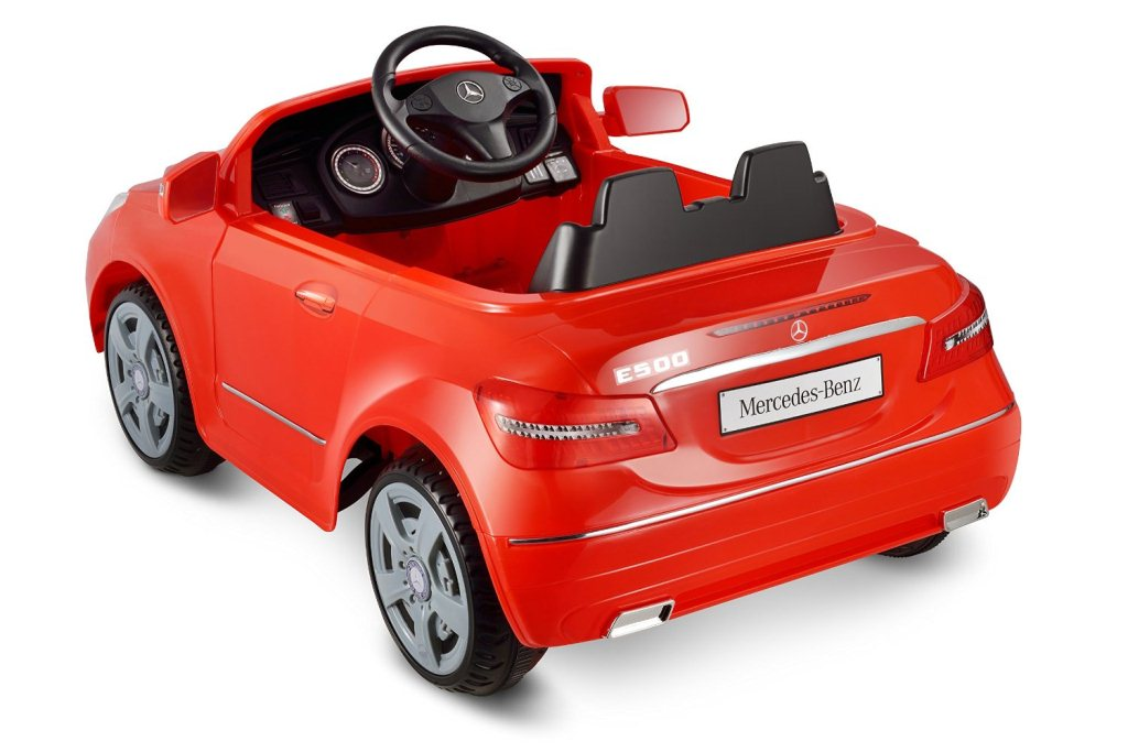 Kid motorz ride on toys car for red mercedes benz e550 6v for Mercedes benz e550 ride on